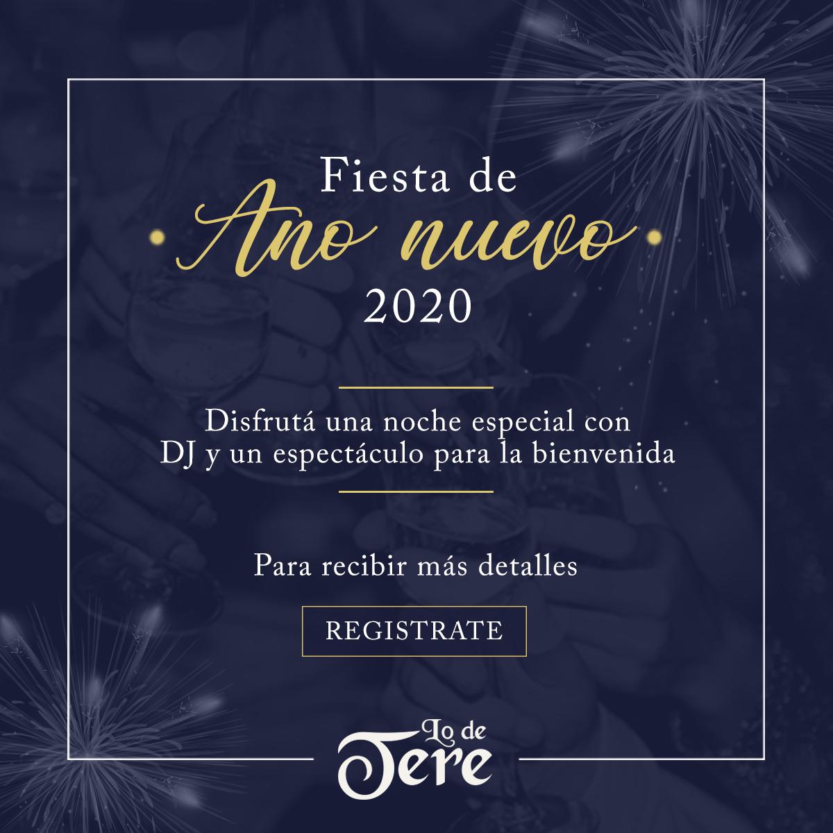 Cena De Fin De Año Lo De Tere
